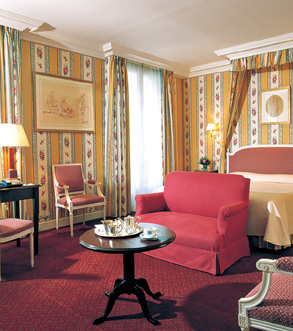 Victoria Palace Hotel, Paris.  King-Bedded Junior Suite.