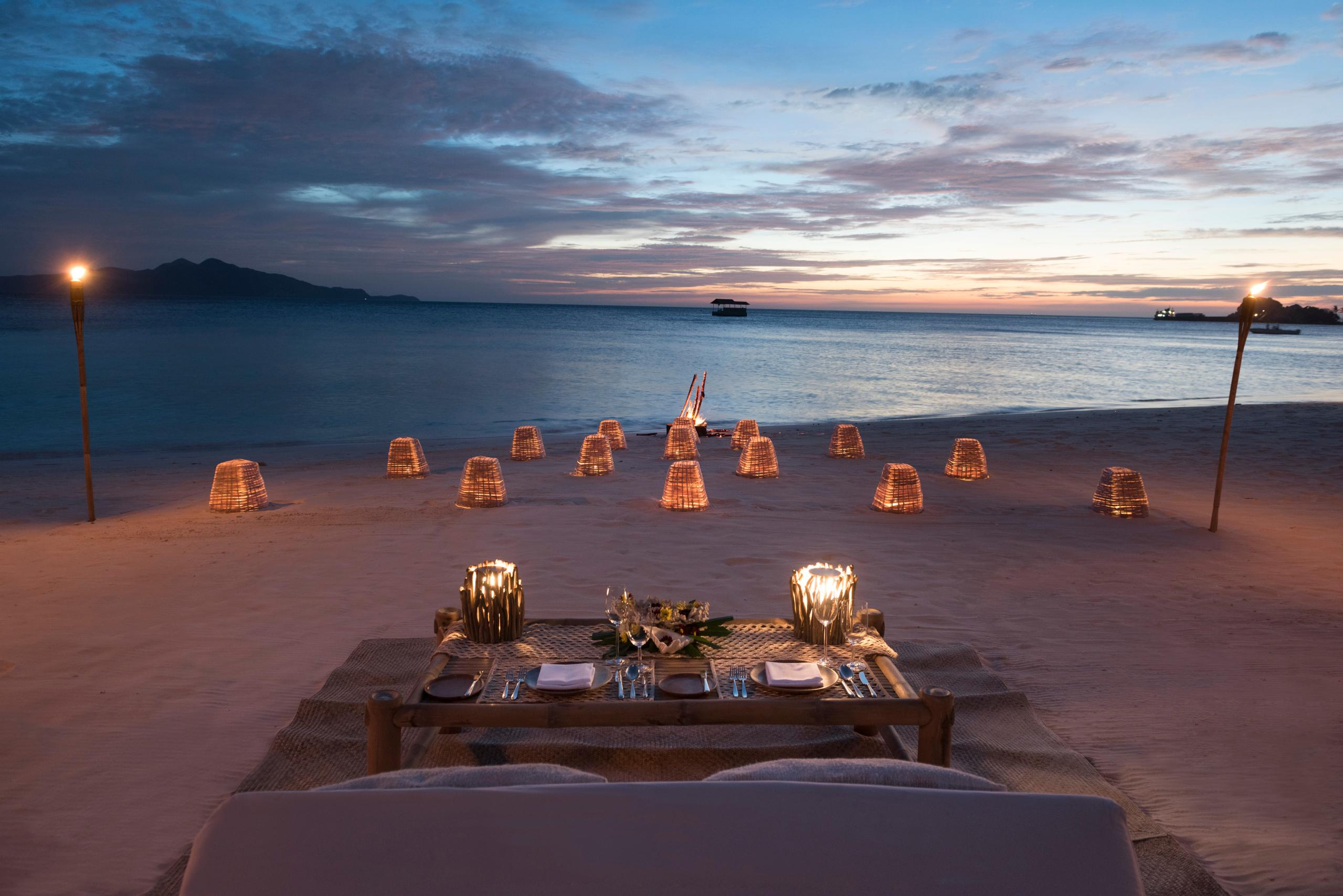 Private Beach Barbecue