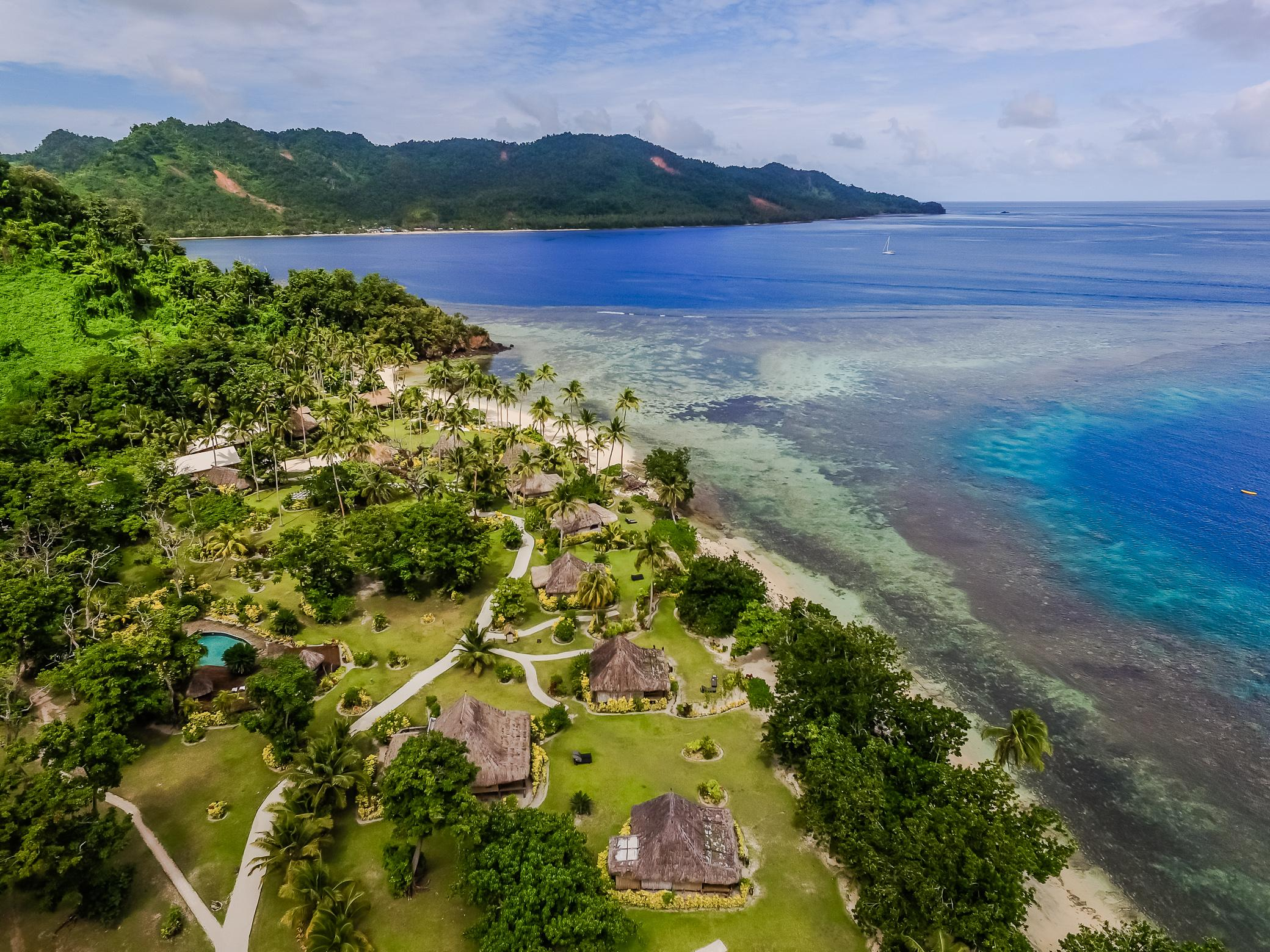 Aerial View  - Qamea Resort and Spa