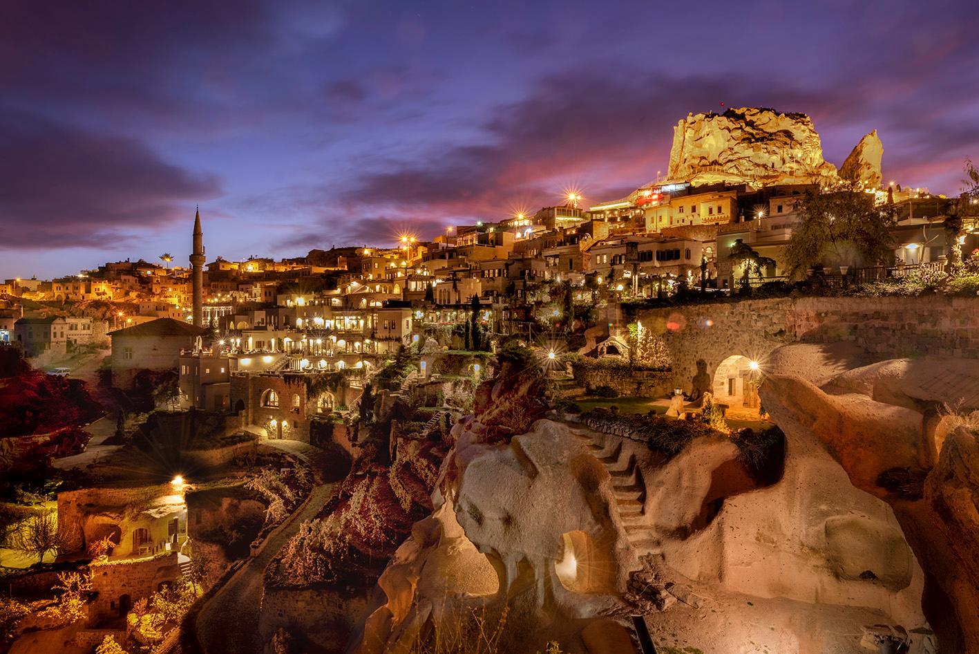 Outside View of Argos in Cappadocia