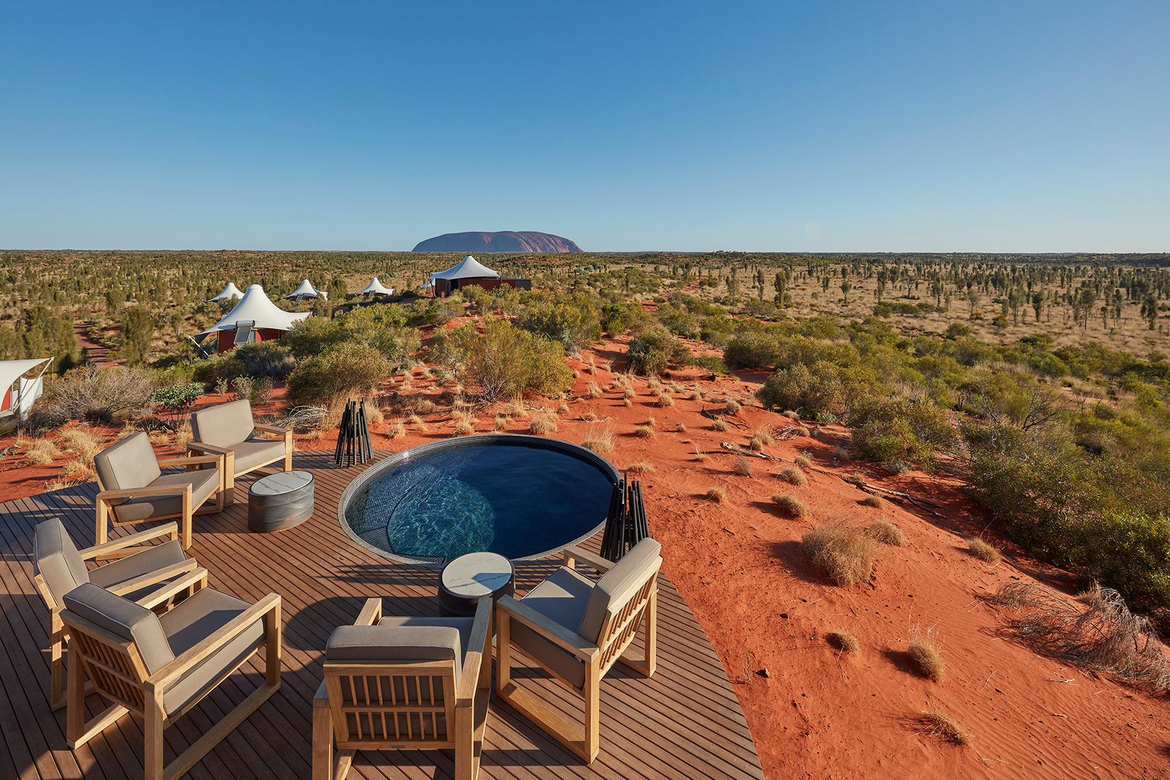 Dune Top plunge pool