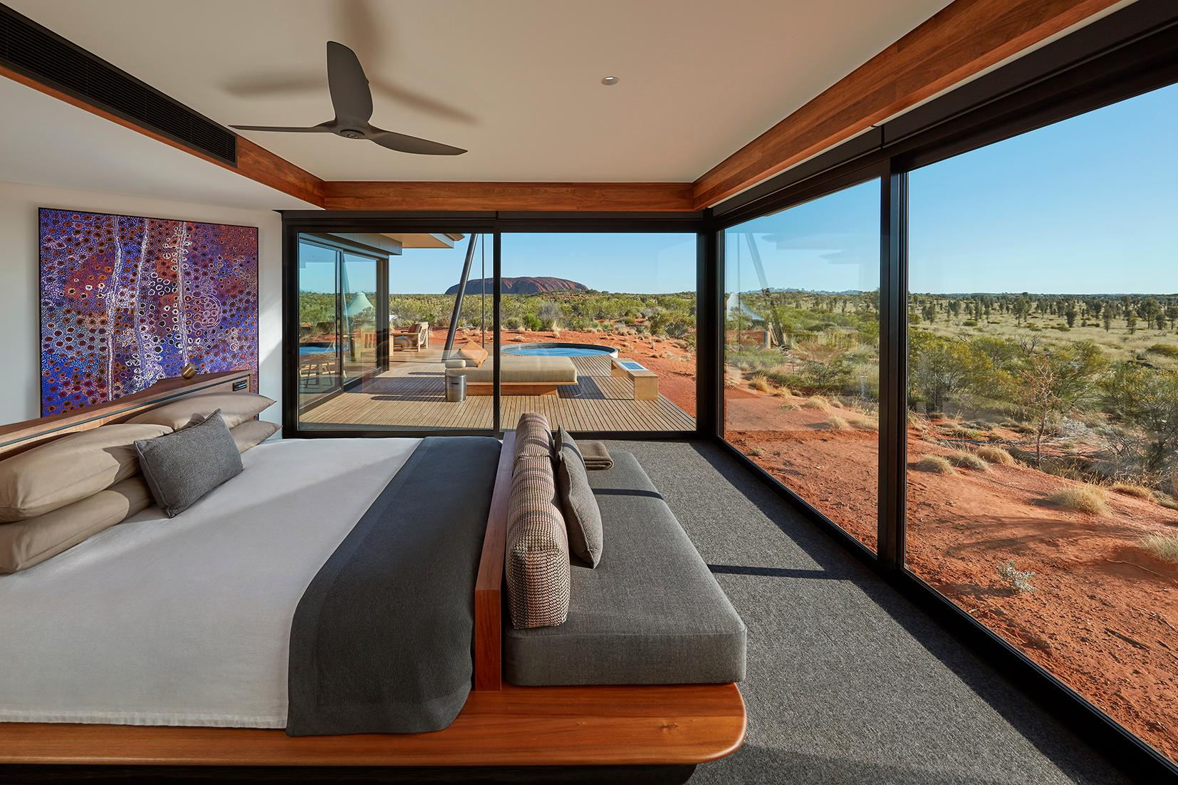 The Dune Pavilion - Bedroom
