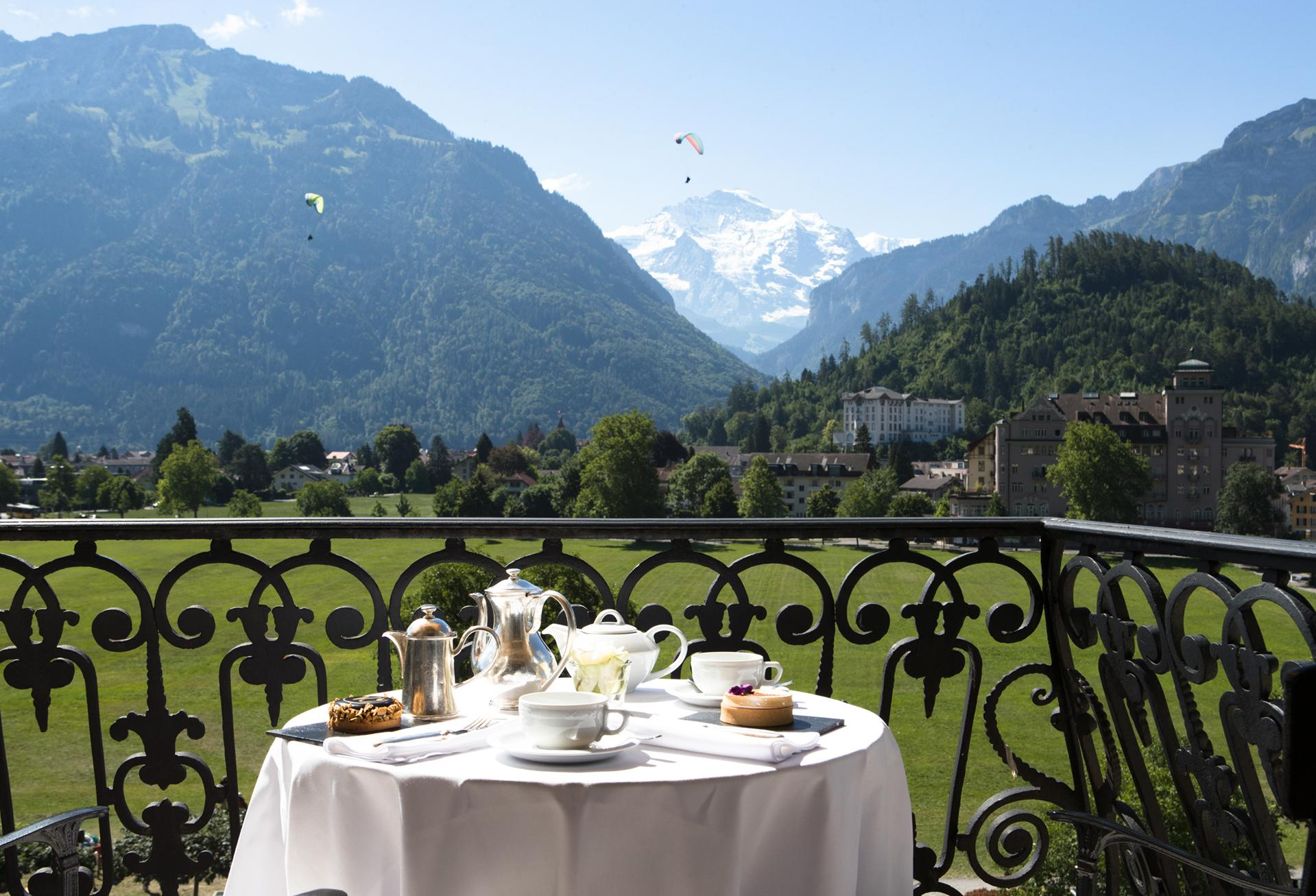 Enjoy your Breakfast on the Balcony of your room while admiring the view