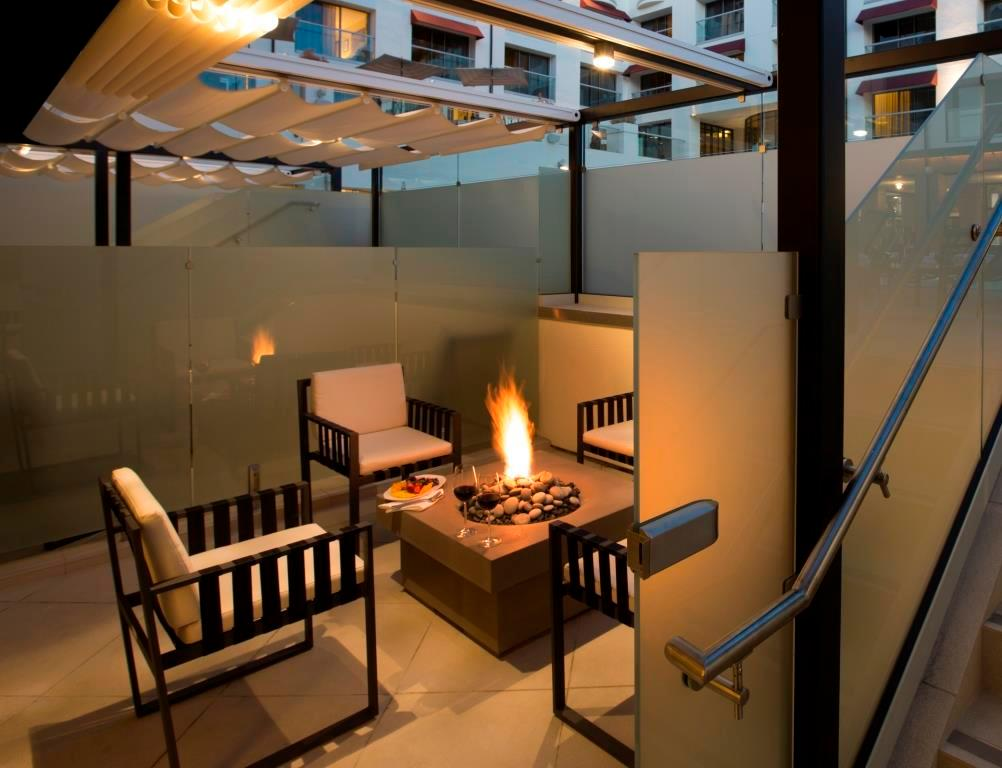 Cabana Room Fire Pit