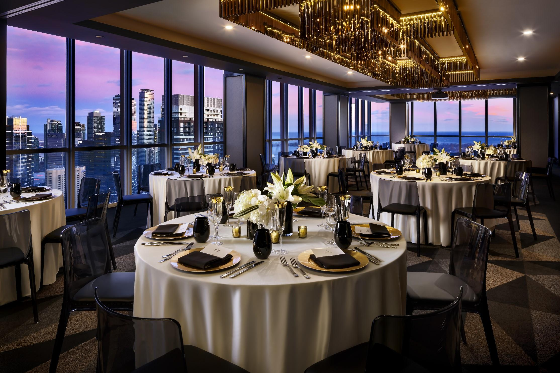 Bisha_Sky Suite_Wedding Reception Lake, City views