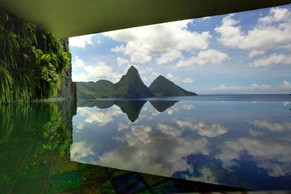 Picture Perfect Views from the Jade Mountain sanctuaries
