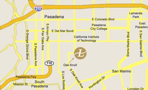 Los Angeles Map Location.The Langham Huntington Pasadena Los Angeles Map Location