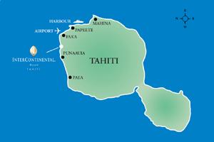 InterContinental Tahiti Resort & Spa - Map/Location
