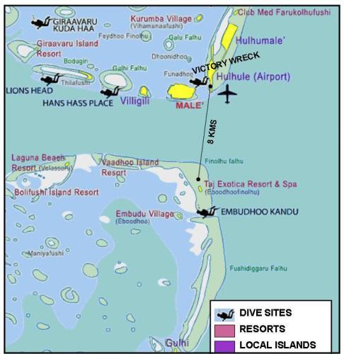 Taj Exotica Resort Spa Maldives Map Location