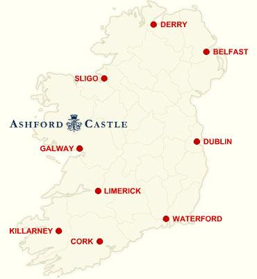 Ashford Castle   Map/Location