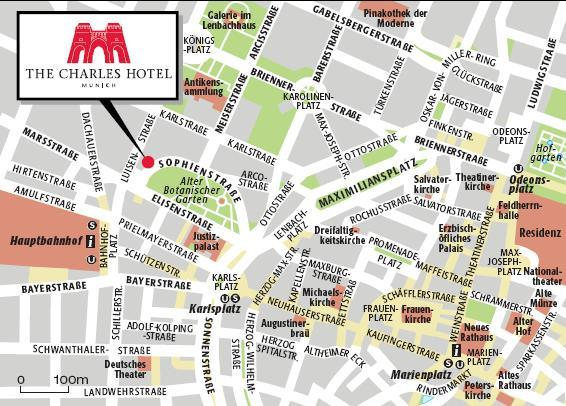 The Charles Hotel a Rocco Forte hotel MapLocation